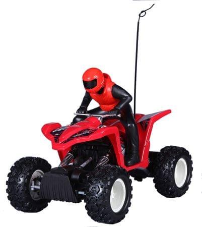 Maisto Rock Crawler ATV - czerwony