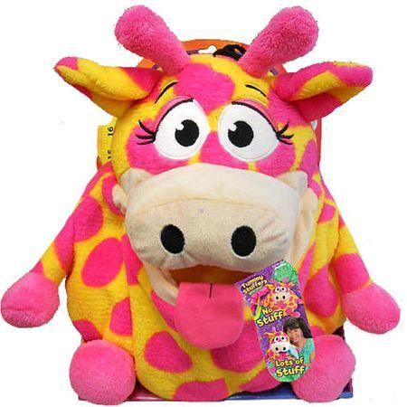 OEM Tummy Stuffers Tömzsák állatka Neon zsiráf