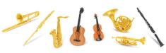Safari Ltd. Tuba - Hudební nástroje
