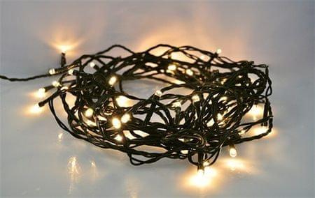 Solight lampki świąteczne 500 LED 50 m, ciepły biały