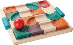 Plan Toys kolorowy tor kulkowy