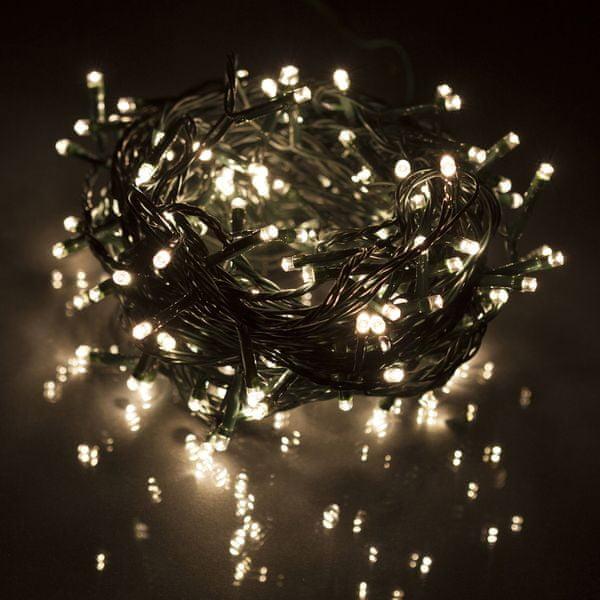 Retlux Vánoční LED řetěz 150 LED 1 m teplá bílá
