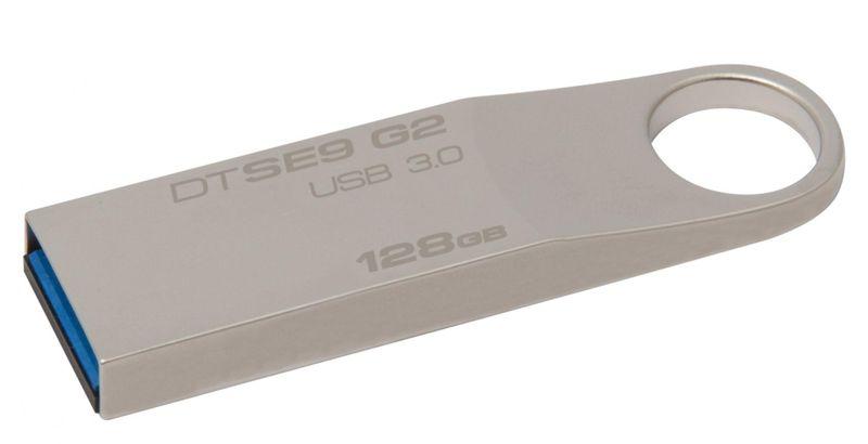 Kingston DataTraveler SE9 G2 128GB / USB 3.0 / Metal (DTSE9G2/128GB)