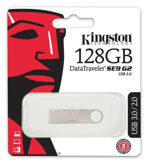 Kingston USB DataTraveler SE9 G2, 128GB (DTSE9G2)