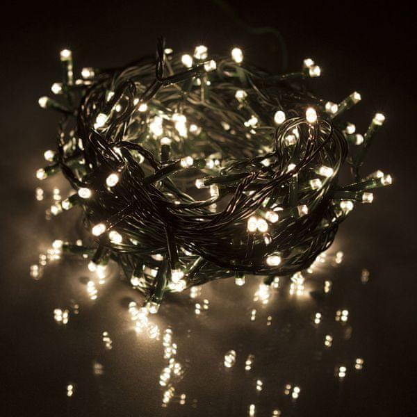 Retlux Vánoční LED řetěz 60 LED 6 m teplá bílá