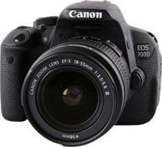 Canon Lustrzanka cyfrowa EOS 700D + 18-55 DC III