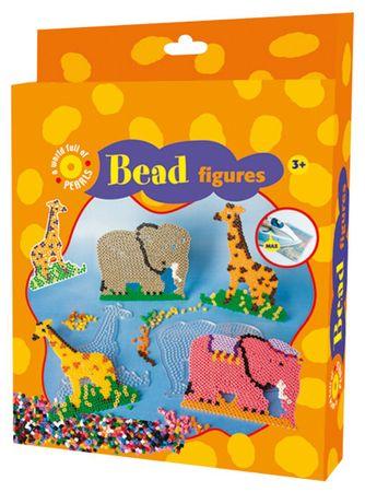 PLAYBOX Zsiráf-elefánt gyöngyképkészítő készlet