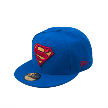 New Era CHARACTER BASIC SUPERMAN BLUE/RED/YELLOW 59,6 cm kék