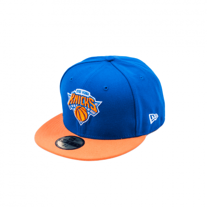 New Era NBA BASIC NEW YORK KNICKS BLUE/ORANGE 59,6 cm kék/narancs