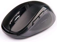 C-Tech WLM-02 mysz bezprzewodowa, czarna