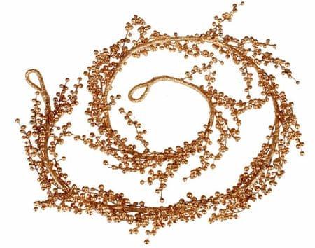 EverGreen Girlanda bobulky zlatá