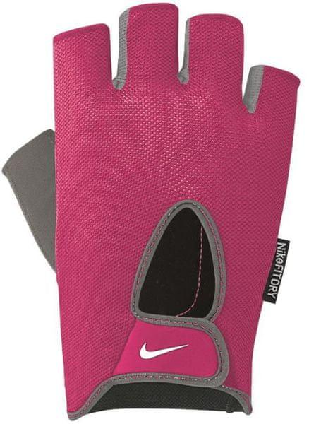 Nike Women's Fundamental Fitness Gloves růžová/šedá M