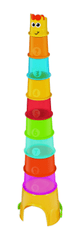 B-Kids Maxi stohovací kelímky Žirafa
