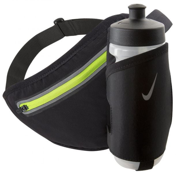 Nike Lean 22 Oz Hydration Waistpack Black/Volt Unisex