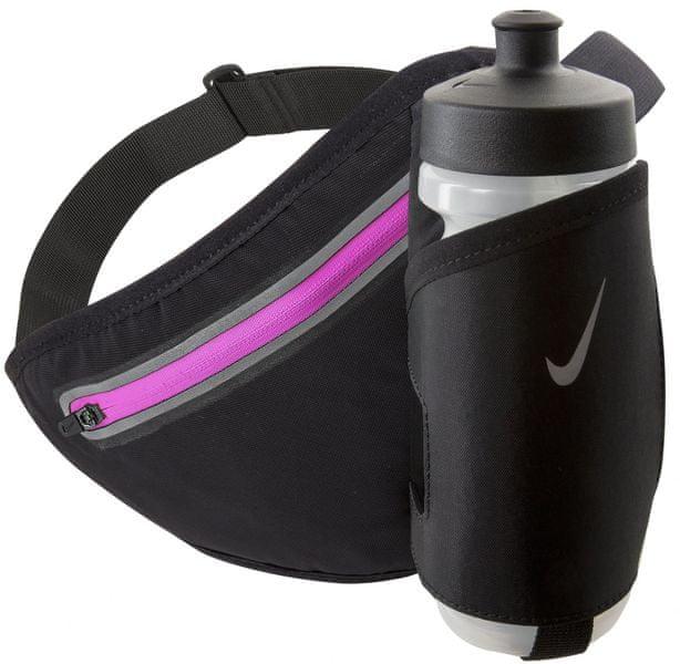 Nike Lean 22 Oz Hydration Waistpack Black/Pink Pow Unisex