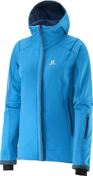 Salomon Snowcube Jacket W Methyl Blue XS