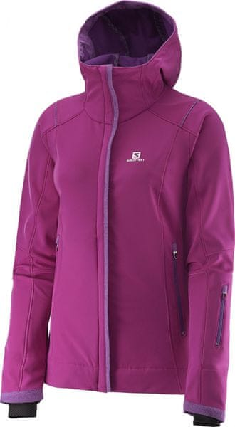 Salomon Snowcube Jacket W Aster Purple M