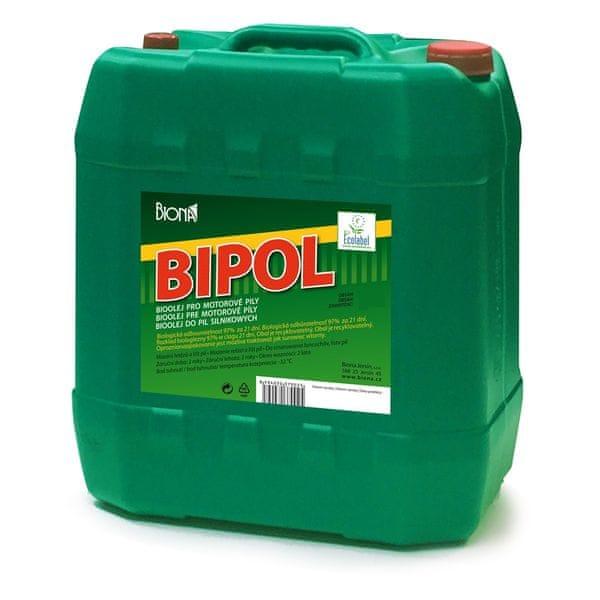Bipol Bioolej 10 l, mazaní řetězů a lišt