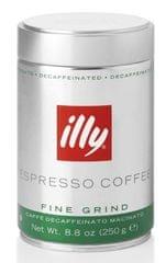 illy Mletá káva bez kofeínu 250 g