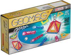 Geomag Glitter Mágneses építőjáték, 22 db