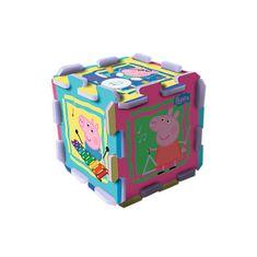Trefl Habszivacs puzzle, Peppa malac, 8 db