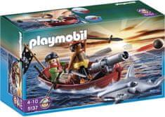 Playmobil Kalózhajó cápával