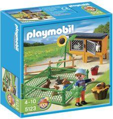 Playmobil 5123 Nyuszik az ólban és ketrecben