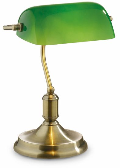 Ideal Lux Stolní lampa Lawyer Brunito 45030