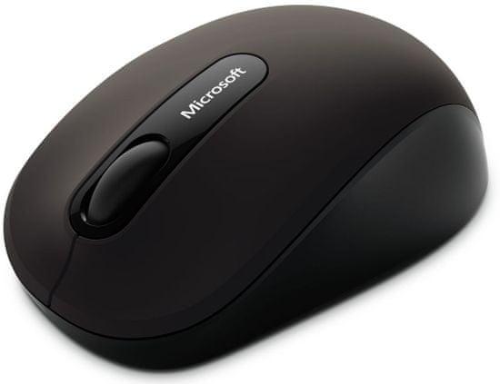 Microsoft Bluetooth 3600 Vezeték nélküli egér, Fekete