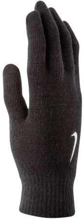 Nike Rękawiczki Knitted Gloves Black/White S/M