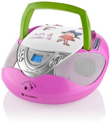 GoGEN MAXI RADIO, różowy