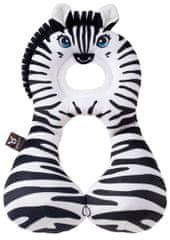 BenBat Nákrčník s opierkou hlavy 1-4 roky, Zebra