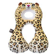 BenBat Nákrčník s opierkou hlavy 1-4 roky, Leopard