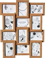 Postershop Fotorám – 12 oken béžový