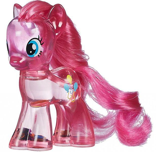 My Little Pony Průhledný poník s třpytkami a doplňkem Pinkie Pie