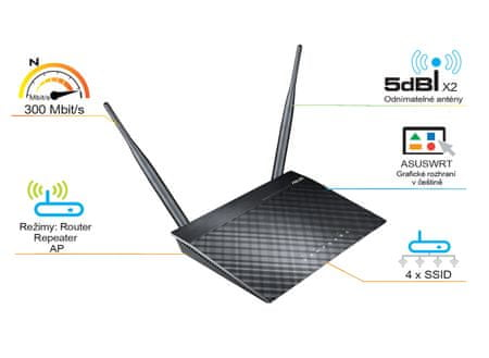 Asus RT-N12 D1 Router