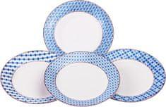 Ritzenhoff&Brecker krožniki Paco, modri, 4 kosi