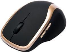 Connect IT bezdrôtová laserová myš WM2200 zlatá