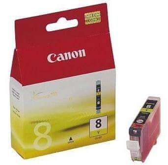 Canon CLI-8Y, žlutá (0623B001)