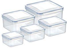 Tescoma 5 - delni set kvadratnih posod Freshbox