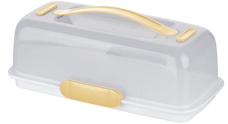 Tescoma Chladící podnos s poklopem Delícia 36 x 18 cm (630844) - žlutá