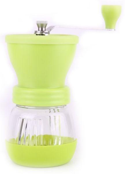Ceramic Blade Ruční mlýnek na kávu zelený