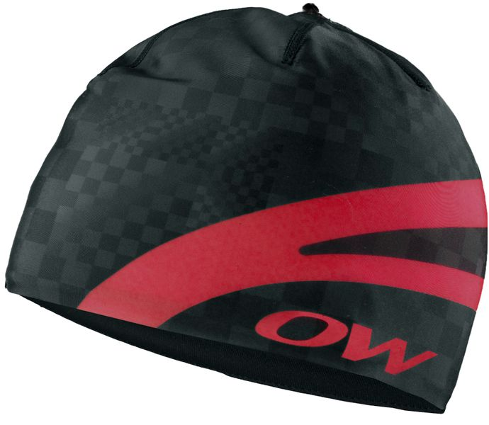 One Way Carbon Racing Hat Black-Red Uni