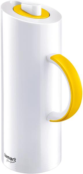 Lamart termoska žlutá 1l