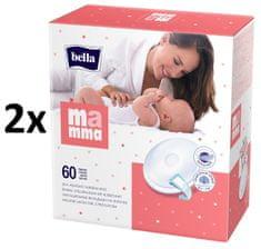 Bella Prsní vložky Mamma, 2x60 ks
