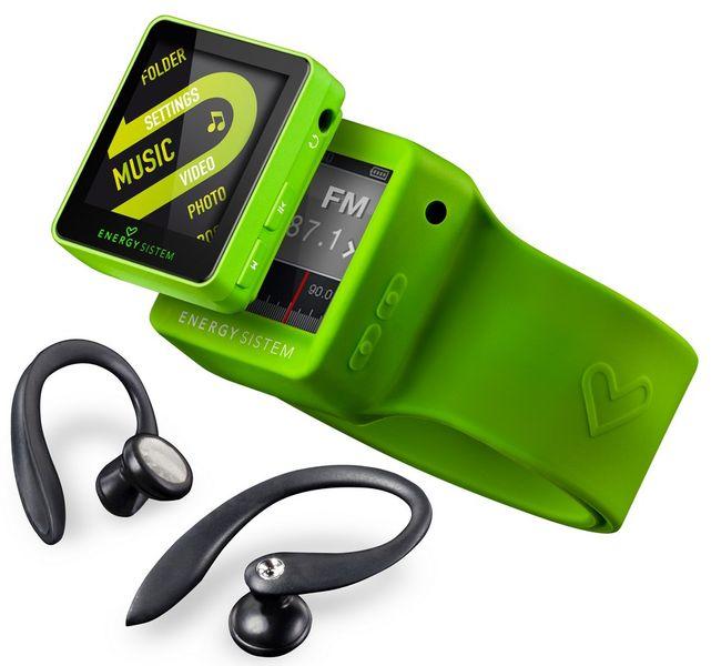 Energy Sistem 2508 Sport 8 GB, zelená