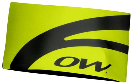 One Way Mia Figura Headband - Wide Yellow Uni