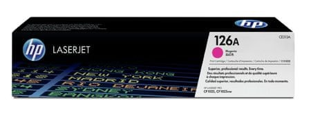 HP CE313A, purpurová