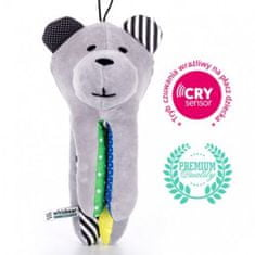 Whisbear Szumiący Miś z funkcją CRYsensor, cytryna
