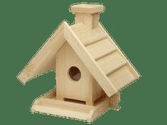 Villa Fából készült madáretető
